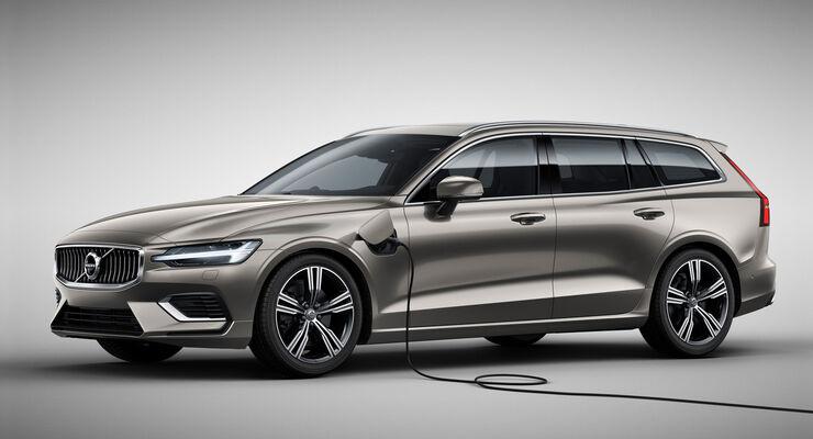 SPERRFRIST 21.02.2018 / 16.10 Uhr Volvo V60 2018