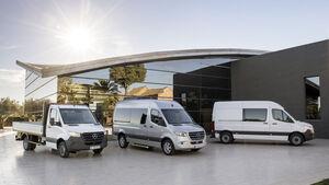 SPERRFRIST Mercedes Sprinter 2018 Vorabmaterial