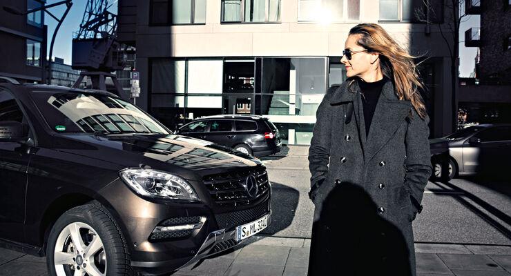 SUV, Frau