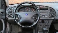 Saab 9-3 2.0 Turbo, Lenkrad, Rundinstrumente