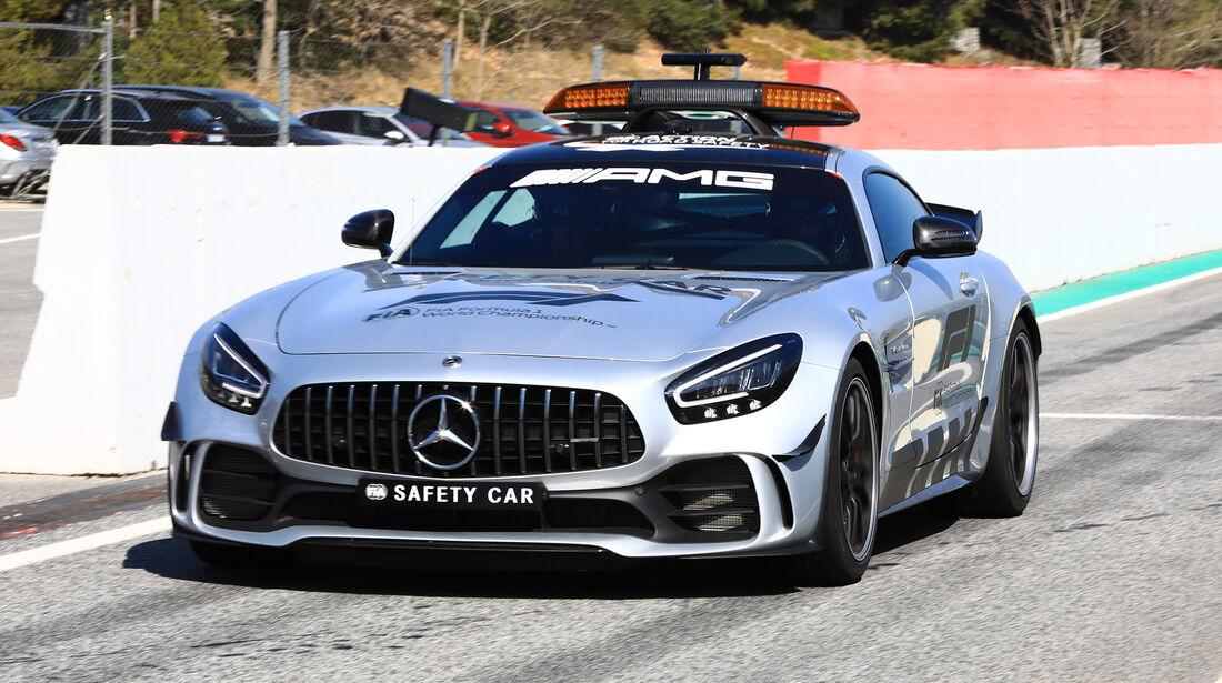 Safety-Car - Barcelona - F1-Test - 28. Februar 2019