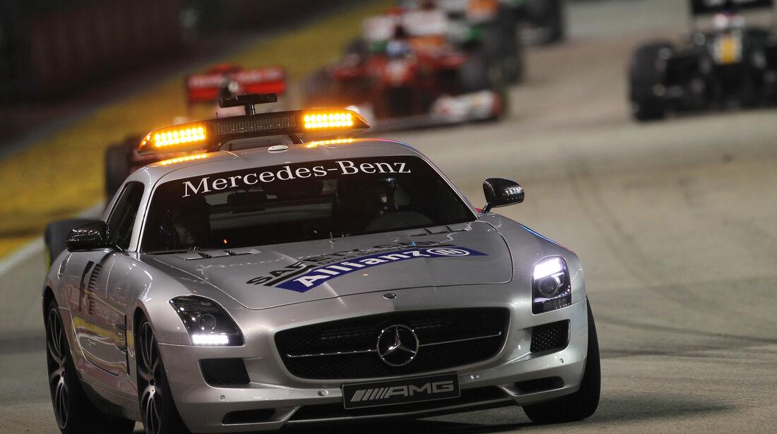 Safety-Car F1 Singapur 2012