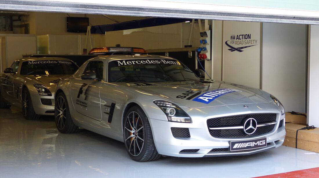 Safety-Car - Formel 1 - GP Abu Dhabi - 20. November 2014