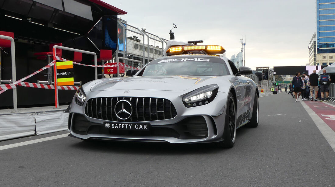 Safety-Car - Formel 1 - GP Aserbaidschan - Baku - 25. April 2019