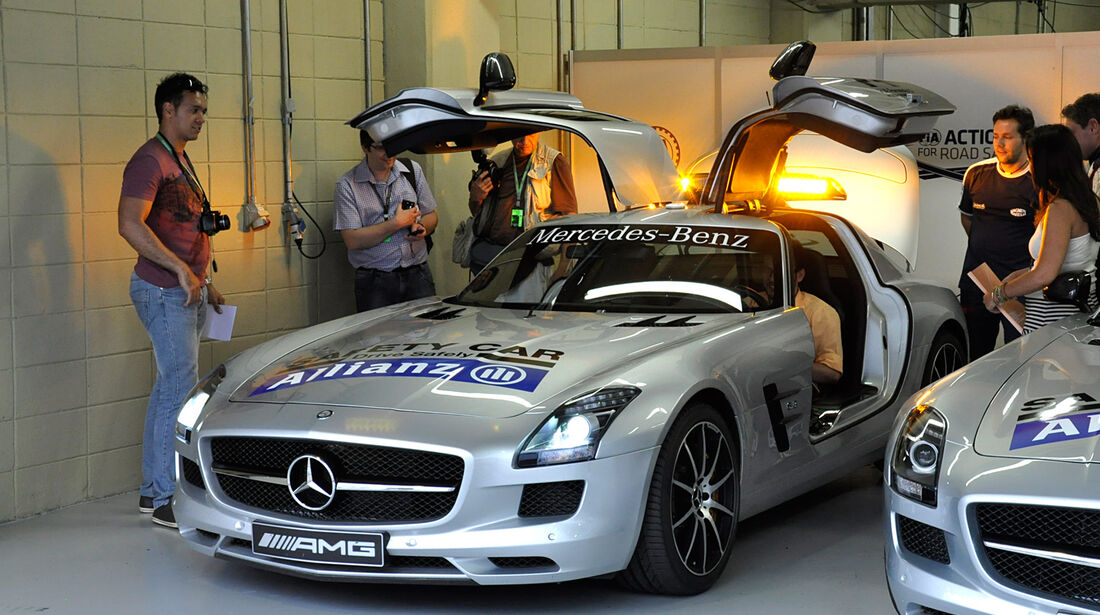 Safety-Car - Formel 1 - GP Brasilien - 21. November 2013