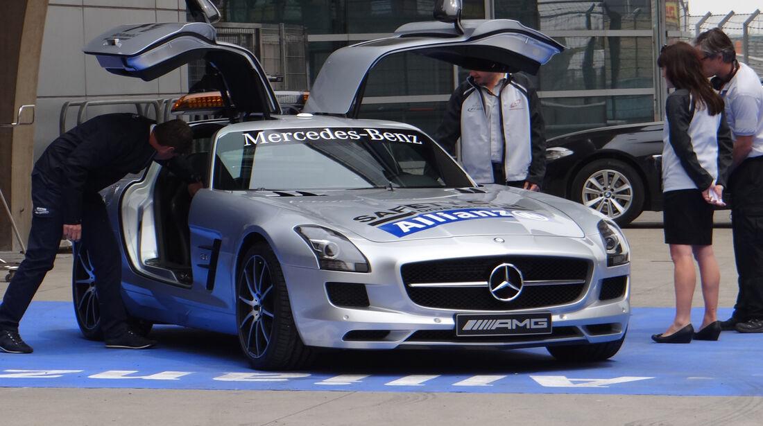 Safety Car - Formel 1 - GP China - 11. April 2013