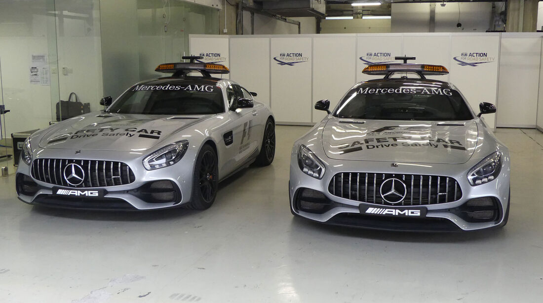 Safety Car - Formel 1 - GP China - Shanghai - 6.4.2017