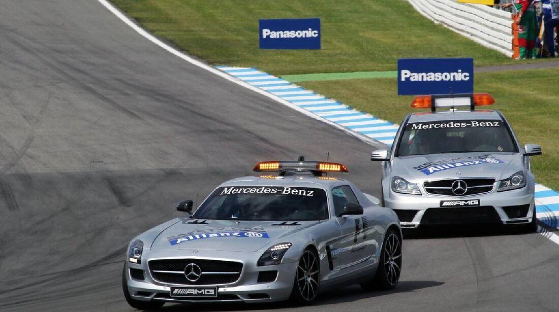 Safety Car - Formel 1 - GP Deutschland - 21. Juli 2012
