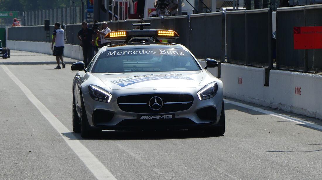 Safety-Car - Formel 1 - GP Italien - Monza - 1. September 2016