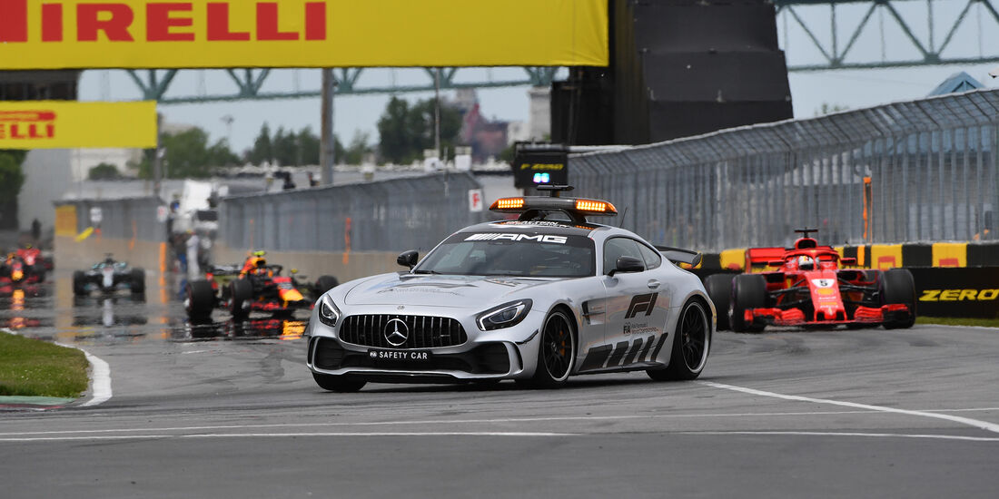 Safety-Car - Formel 1 - GP Kanada 2018