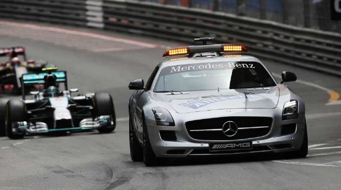 Safety Car  - Formel 1 - GP Monaco - 25. Mai 2014