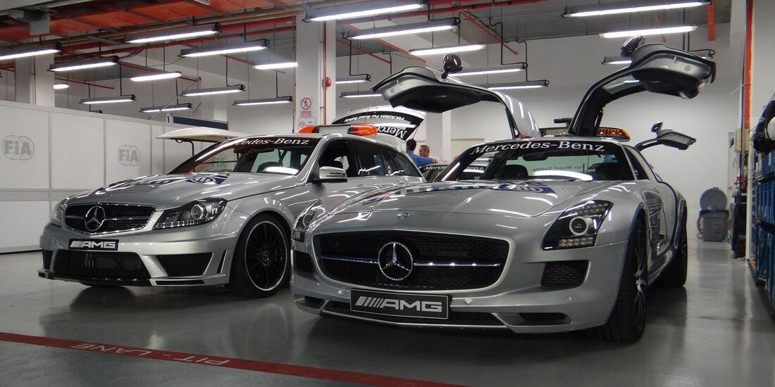 Safety-Car - Formel 1 - GP Singapur - 20. September 2012