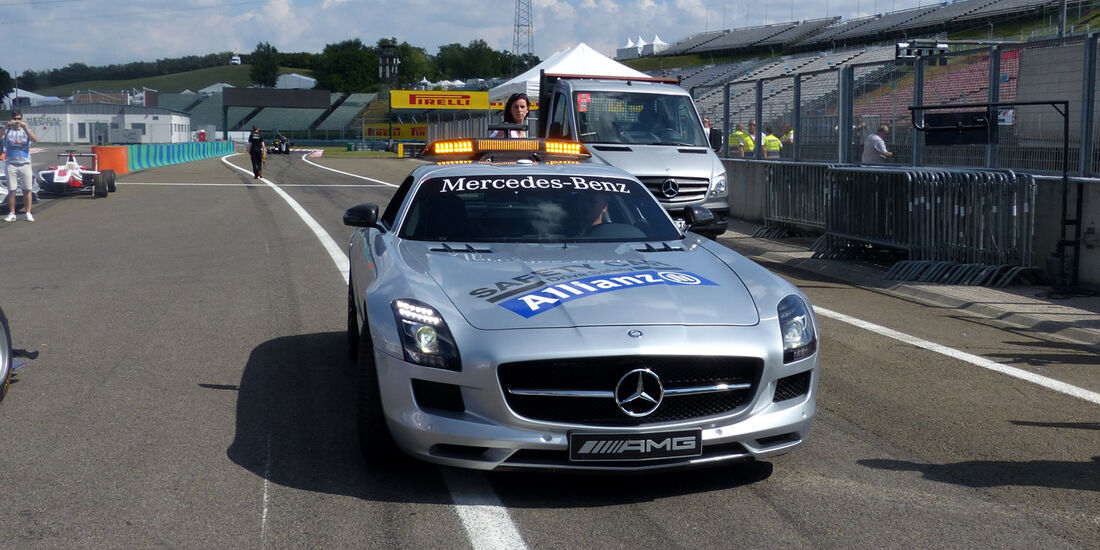 Safety-Car - Formel 1 - GP Ungarn - Budapest - 24. Juli 2014
