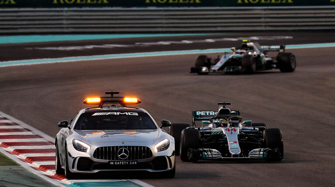 Safety-Car - GP Abu Dhabi 2018