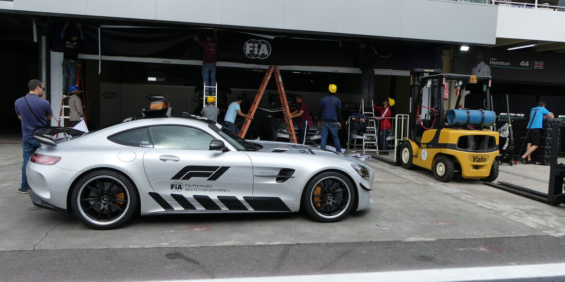 Safety Car - GP Brasilien - Interlagos - Formel 1 - Mittwoch - 7.11.2018