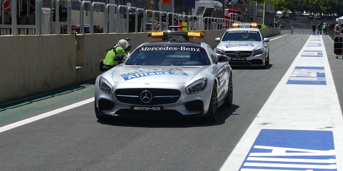 Safety Car - GP Brasilien - Sao Paulo - Interlagos - Donnerstag - 10.11.2016