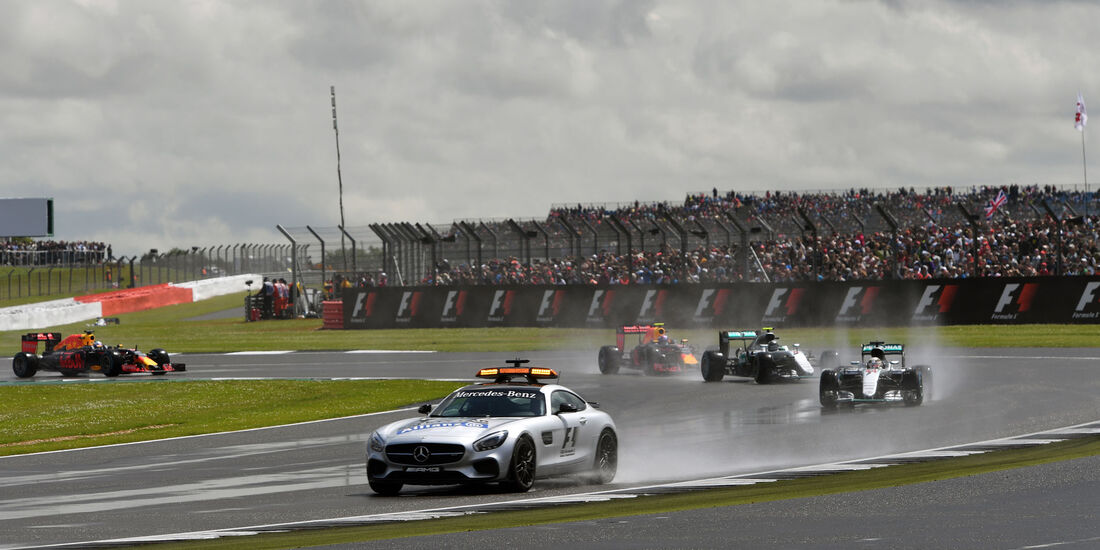 Safety Car - GP England 2016 - Silverstone - Rennen