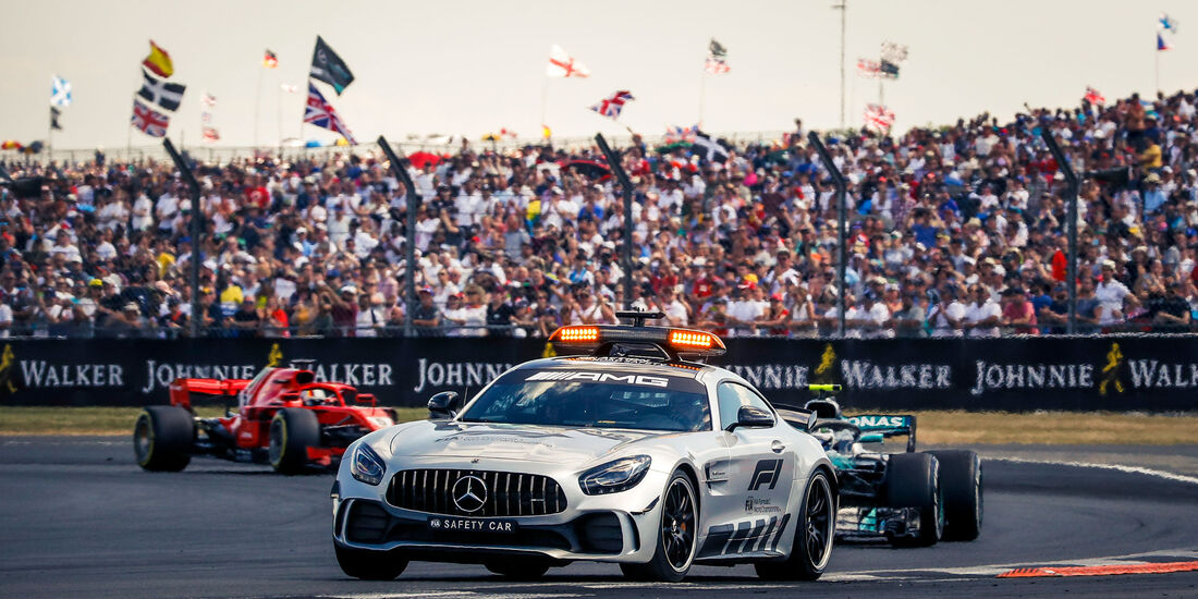 Safety Car - GP England 2018 - Silverstone - Rennen