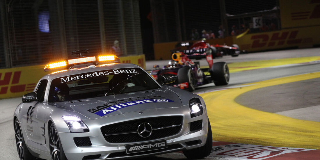 Safety Car - GP Singapur 2013