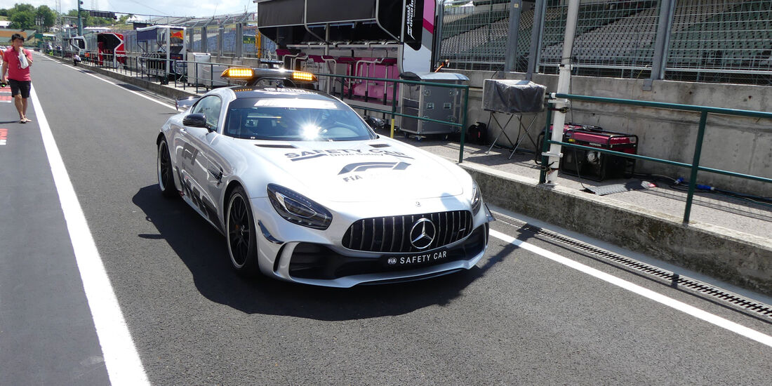 Safety Car - GP Ungarn - Budapest - Formel 1 - Donnerstag - 26.7.2018