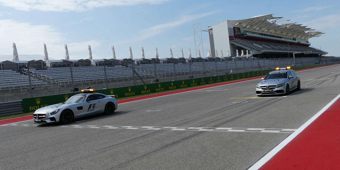 Safety-Car & Medical-Car - Formel 1 - GP USA - Austin - 20. Oktober 2016