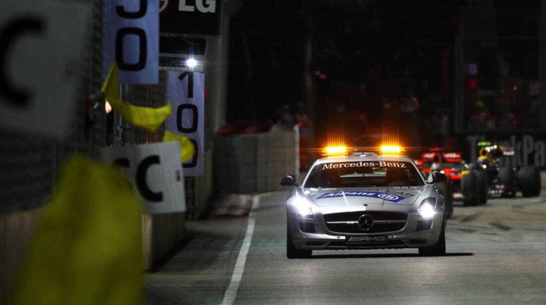Safety-Car Singapur