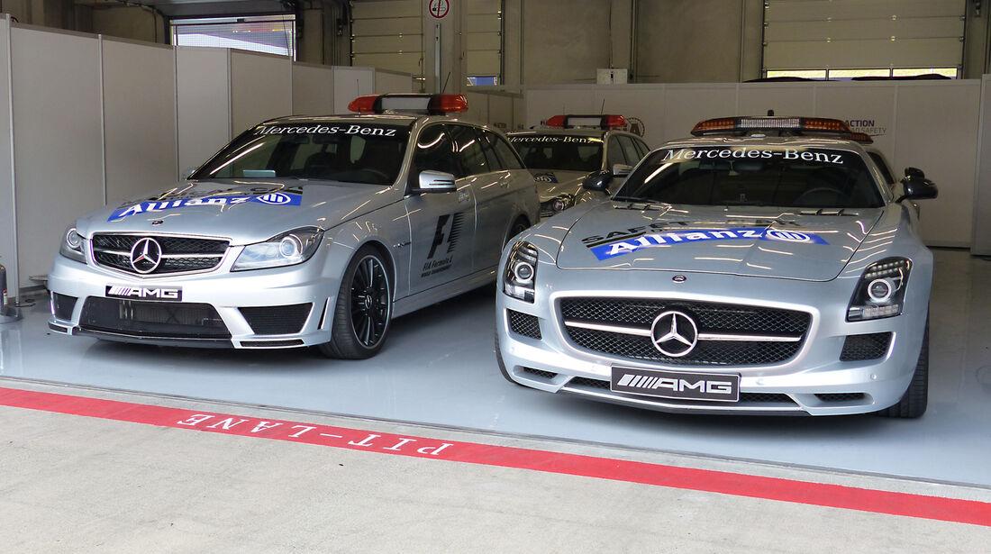 Safety-Cars - Formel 1 - GP Österreich - 18. Juni 2014