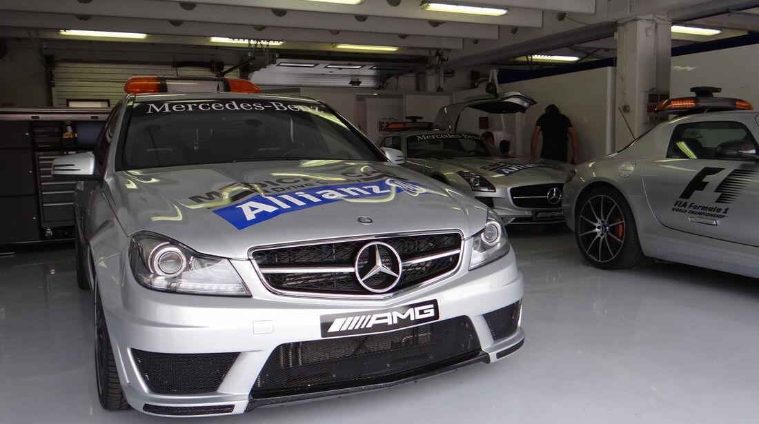 Safety-Cars - Formel 1 - GP Ungarn - 25. Juli 2013