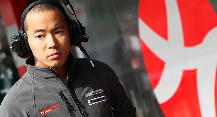Sakon Yamamoto HRT F1