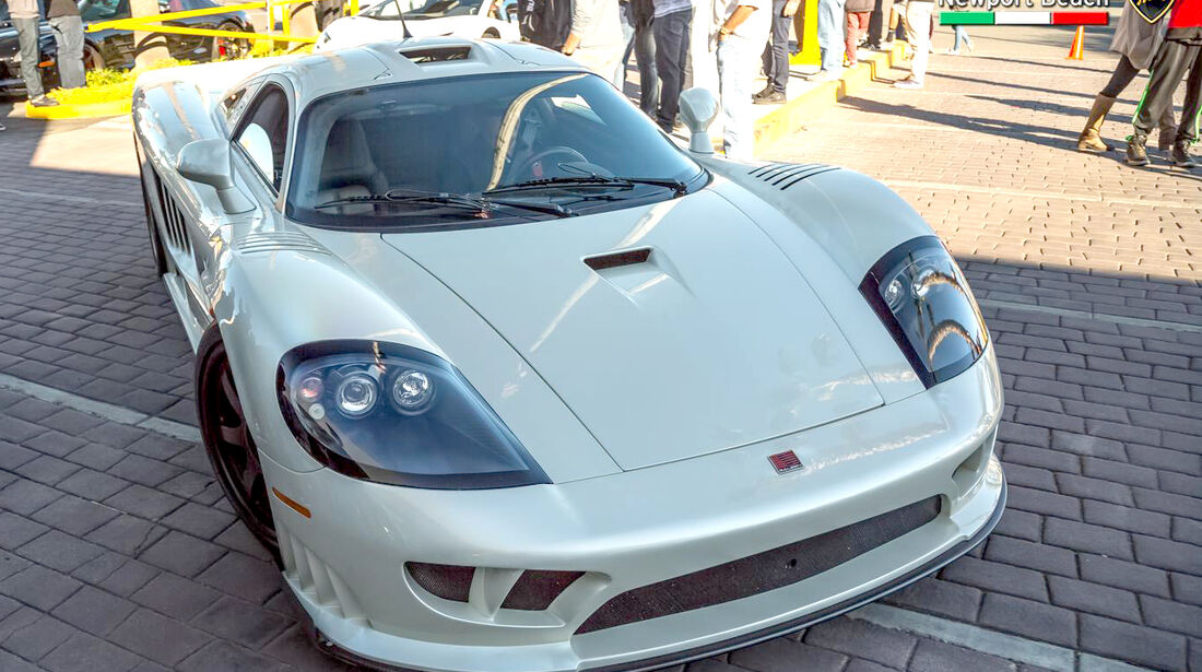 Saleen S7 Twin Turbo - Supercar Show - Lamborghini Newport Beach