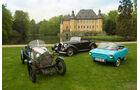 Salmson 9AD, Talbot T 150, Frisky Sport