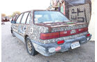 Salvation Mountain Cars, Slab City, East Jesus, Honda Civic Sedan Mutagen