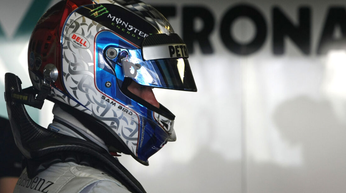 Sam Bird Young Driver Test Abu Dhabi 2011