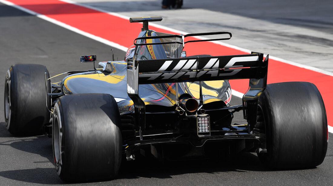 Santino Ferrucci - Haas F1 - Formel 1 - Budapest - Test - 2. August 2017