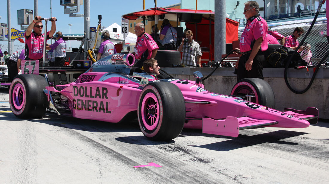 Sarah Fisher - Indycar - 2009