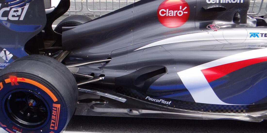 Sauber - Auspuff - Formel 1 2013