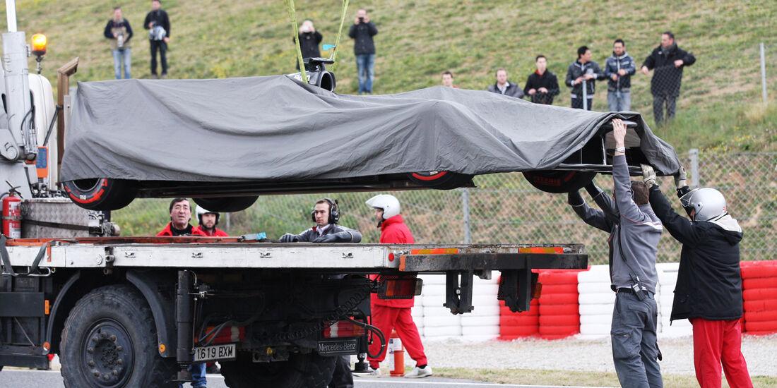 Sauber - Barcelona F1 Test 2013