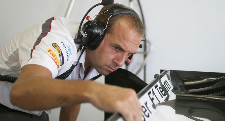 Sauber-Designer Matt Morris 2013