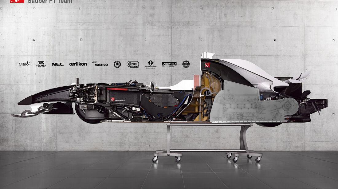 Sauber F1.08 Hälfte 2012