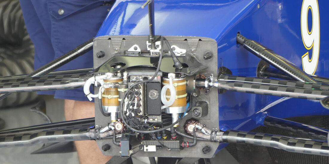Sauber - F1-Technik 2016