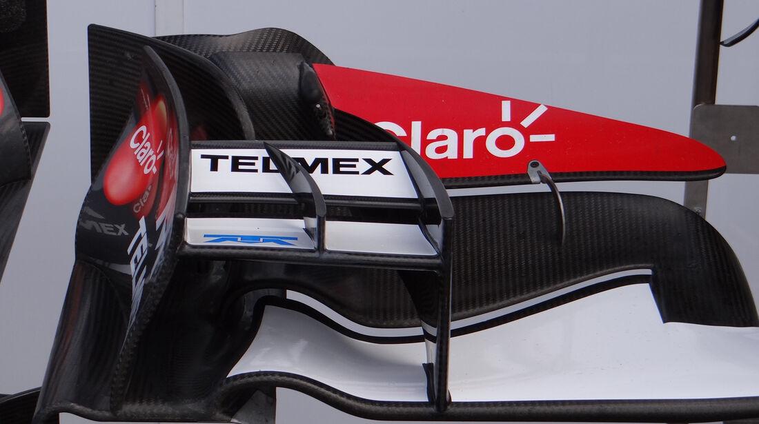 Sauber - Formel 1 - GP Belgien - Spa Francorchamps - 23. August 2013