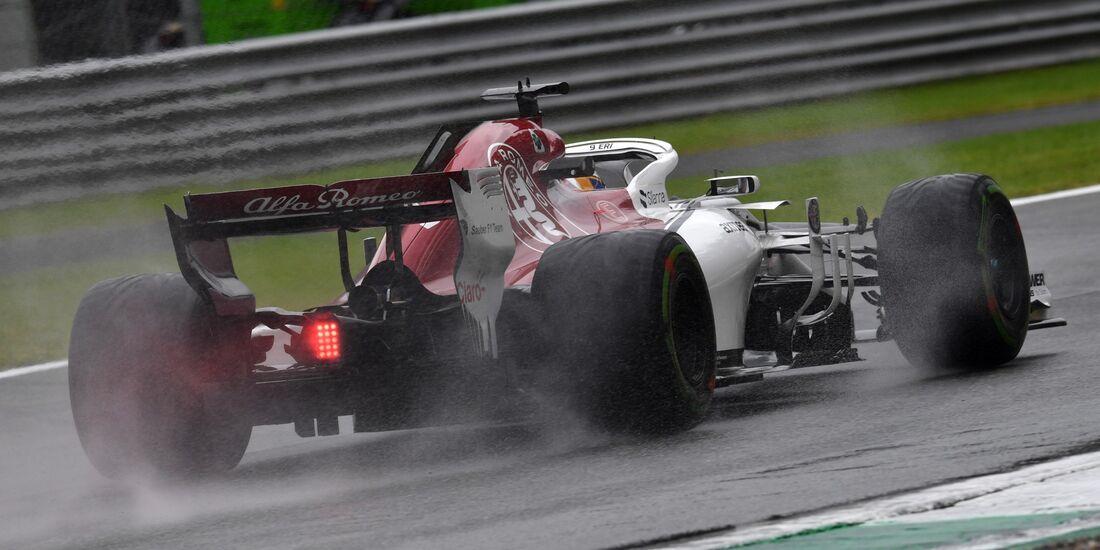 Sauber - Formel 1 - GP Italien - 31. August 2018