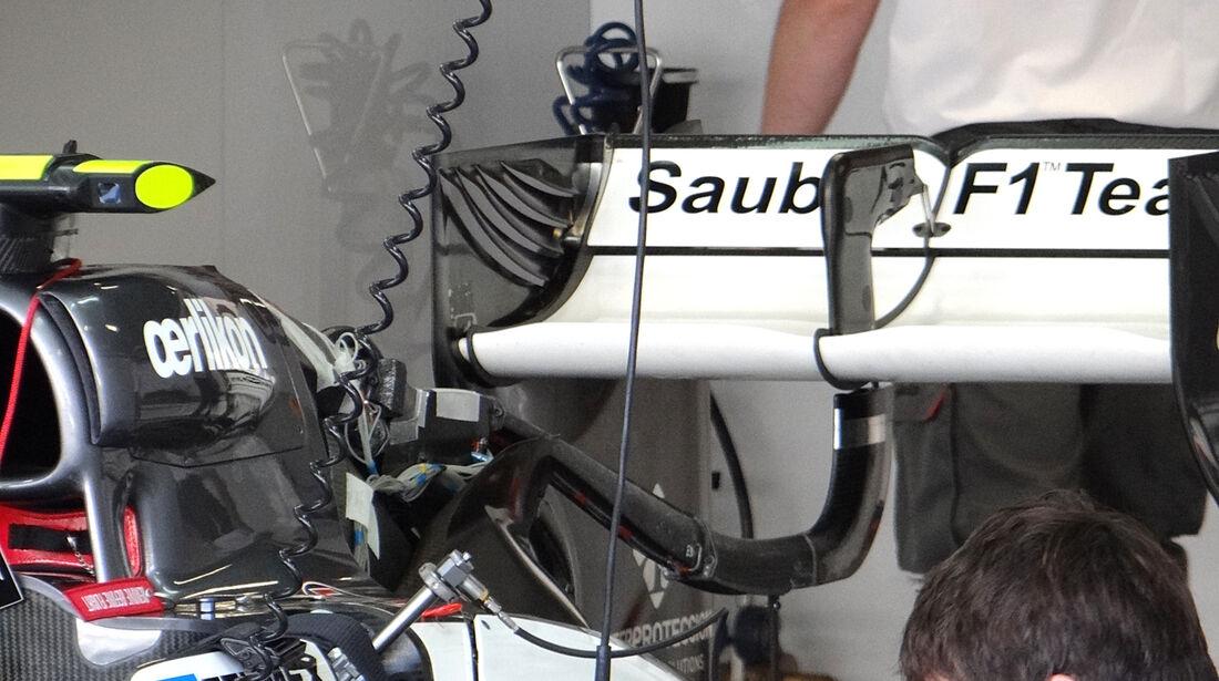 Sauber - Formel 1 - GP Italien - Monza - 6. September 2013