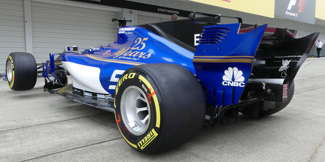 Sauber - Formel 1 - GP Japan - Suzuka - 5. Oktober 2017