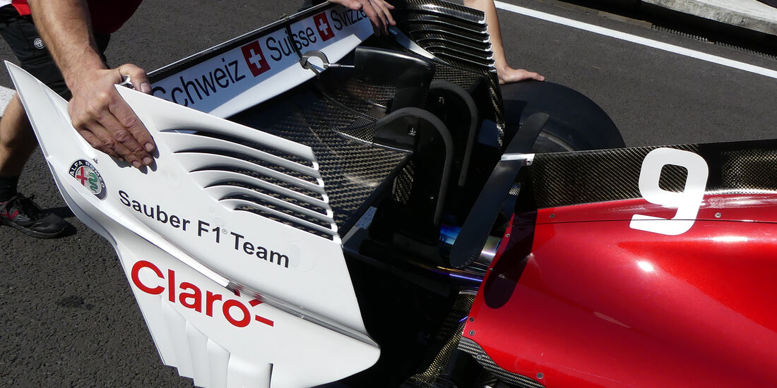 Sauber - Formel 1 - GP Mexiko - 25. Oktober 2018