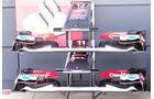 Sauber Frontflügel - Formel 1 - GP England - 27. Juni 2013