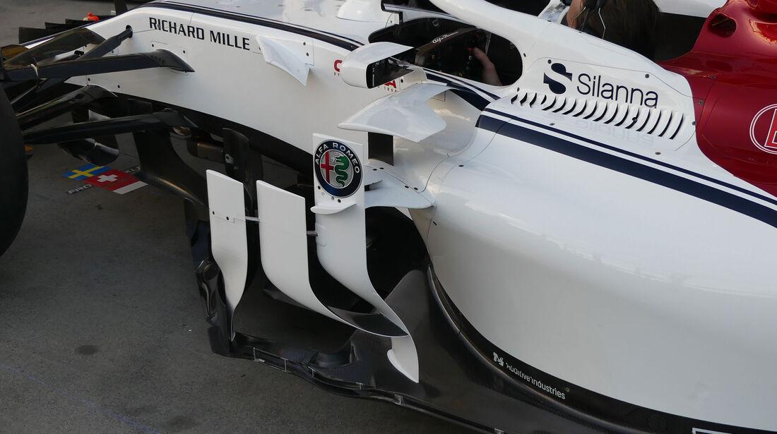 Sauber - GP Australien 2018 - Melbourne - Albert Park - Donnerstag - 22.3.2018