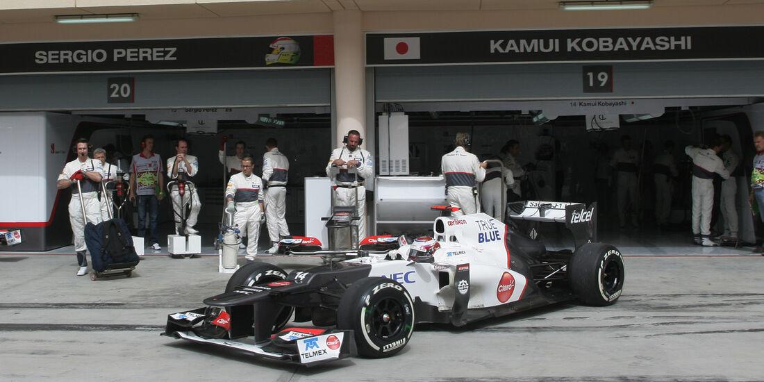 Sauber GP Bahrain 2012