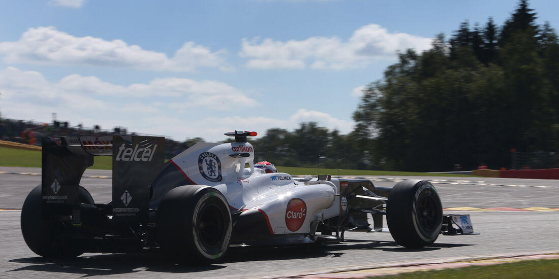 Sauber GP Belgien 2012