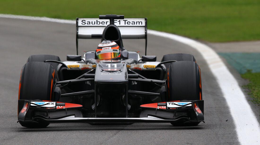 Sauber - GP Brasilien 2013